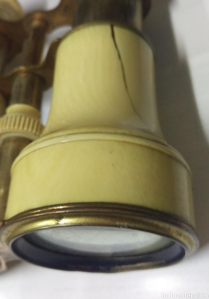 Antigüedades: Antiguos prismáticos de marfil - Foto 3 - 178973445