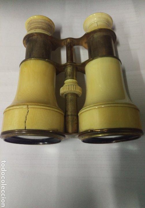 Antigüedades: Antiguos prismáticos de marfil - Foto 5 - 178973445