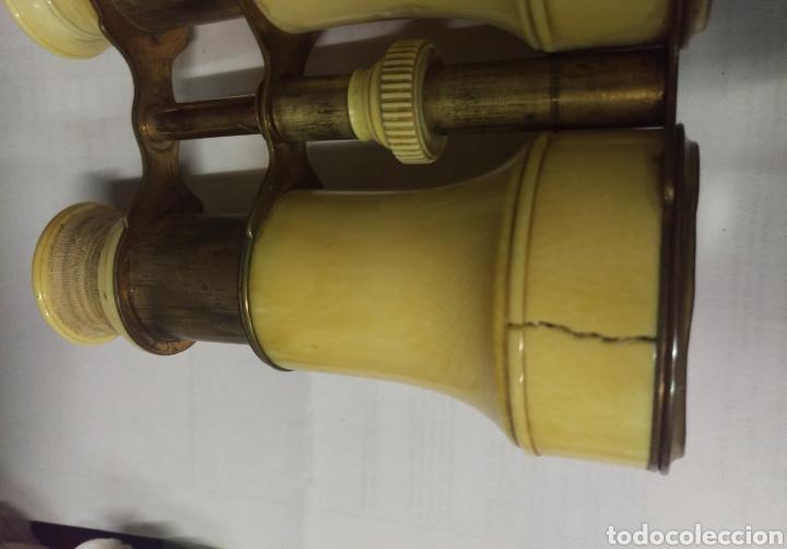 Antigüedades: Antiguos prismáticos de marfil - Foto 6 - 178973445