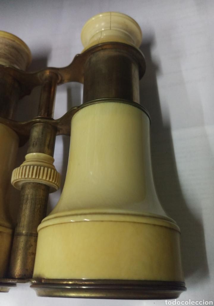 Antigüedades: Antiguos prismáticos de marfil - Foto 7 - 178973445