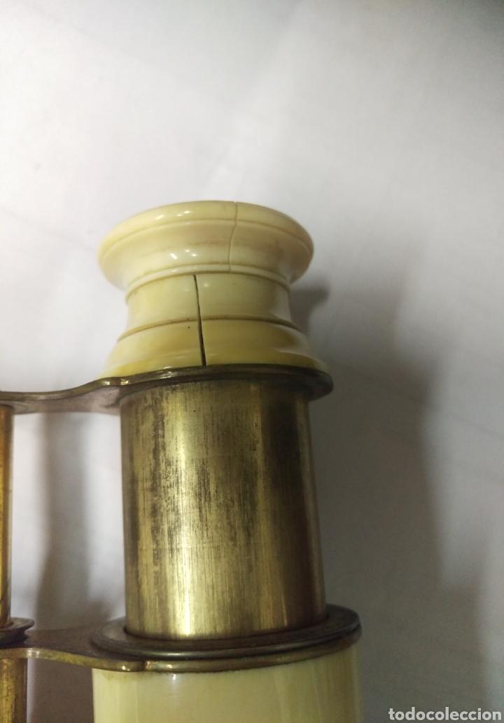 Antigüedades: Antiguos prismáticos de marfil - Foto 8 - 178973445
