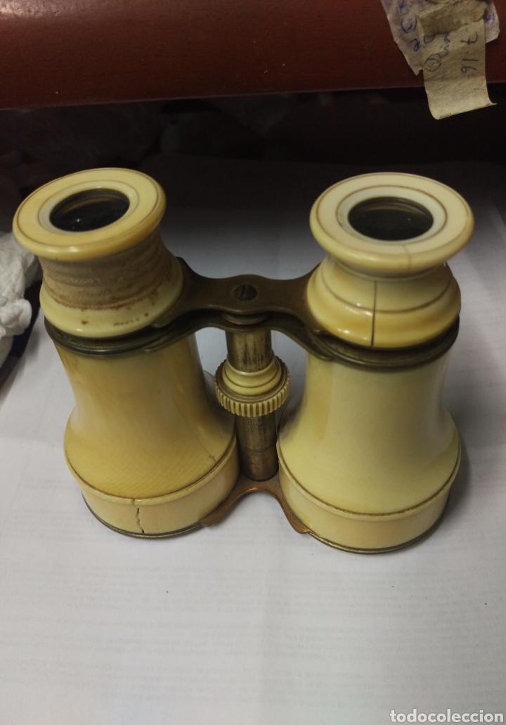 Antigüedades: Antiguos prismáticos de marfil - Foto 9 - 178973445