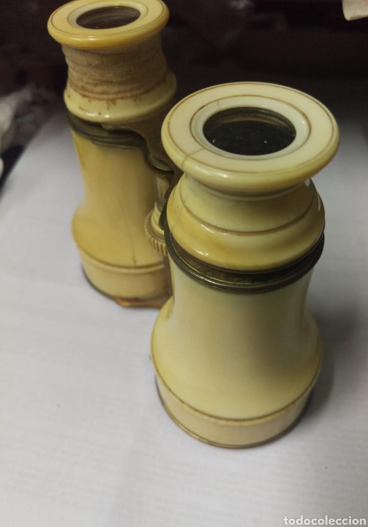Antigüedades: Antiguos prismáticos de marfil - Foto 10 - 178973445