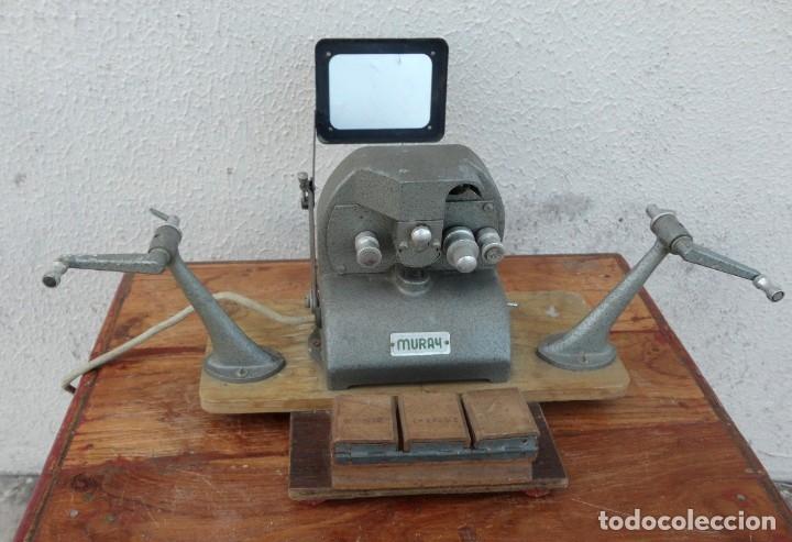 MOVIOLA MARCA MURAY (Antigüedades - Técnicas - Aparatos de Cine Antiguo - Cámaras de Super 8 mm Antiguas)