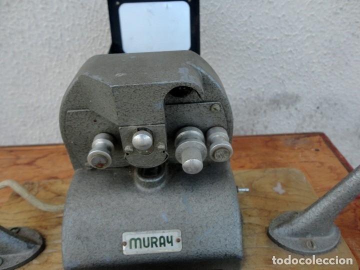 Antigüedades: Moviola marca MURAY - Foto 2 - 178998261