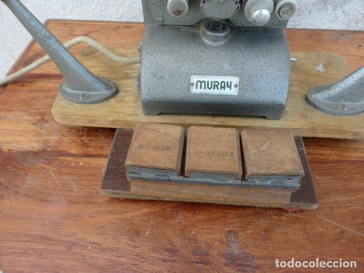 Antigüedades: Moviola marca MURAY - Foto 5 - 178998261
