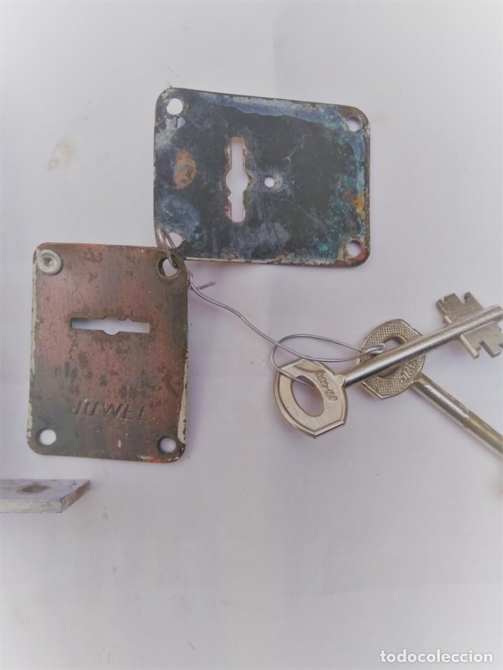 Antigüedades: cerradura de seguridad marca Huwel - Foto 2 - 194991795