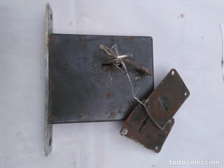 Antigüedades: cerradura de seguridad marca Huwel - Foto 5 - 194991795
