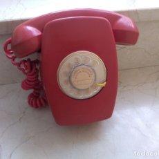 Teléfonos: ANTIGUO TELEFONO CITESA CTNE ROJO. EXCLUSIVO. Lote 179072798