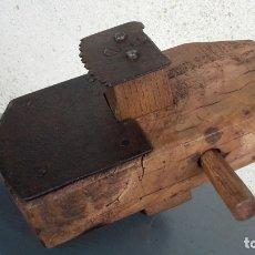 Antigüedades: HERRAMIENTA DE CARPINTERO PARA RANURAR. Lote 179162096
