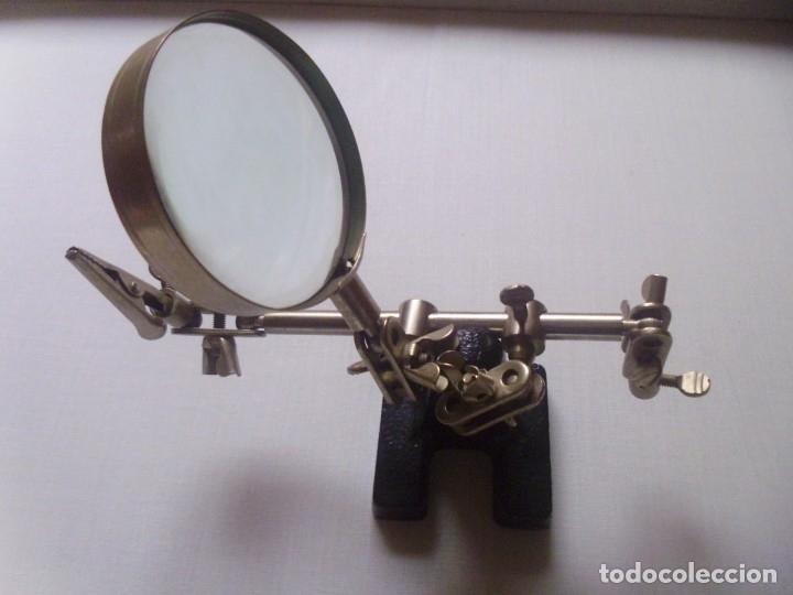 Antigüedades: LUPA antigua -15 cms alto- - Foto 3 - 179180702