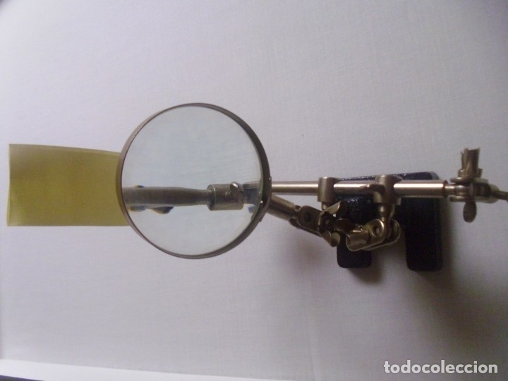 Antigüedades: LUPA antigua -15 cms alto- - Foto 5 - 179180702