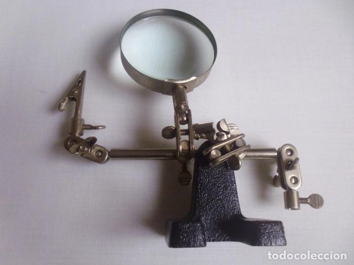 LUPA ANTIGUA -15 CMS ALTO- (Antigüedades - Técnicas - Instrumentos Ópticos - Lupas Antiguas)