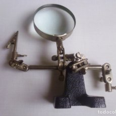 Antigüedades: LUPA ANTIGUA -15 CMS ALTO-. Lote 179180702