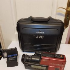 Antigüedades: CAMARA VIDEO RETRO VINTAGE JVC VIDEO MOVIE VHS VIDEOCAMARA GR 65. Lote 179200783
