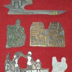 Antigüedades: PLANCHAS DE IMPRESIÓN PARA IMPRENTA. Lote 179304600