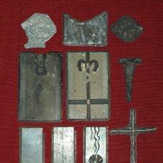 Antigüedades: PLANCHAS DE IMPRESIÓN PARA IMPRENTA. Lote 179308826
