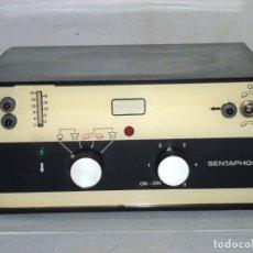 Teléfonos: ANTIGUO CONTESTADOR AUTOMATICO - SENTAPHON.AÑOS 60.. Lote 179330958