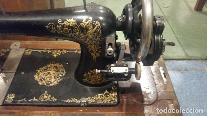 Antigüedades: maquina de coser - Foto 2 - 179381265