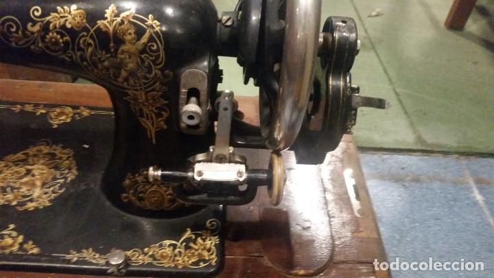 Antigüedades: maquina de coser - Foto 4 - 179381265