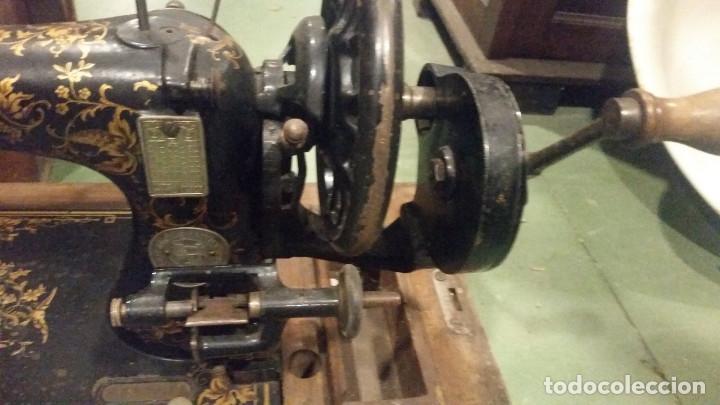 Antigüedades: maquina de coser - Foto 3 - 179381312