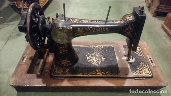 Antigüedades: maquina de coser - Foto 4 - 179381312