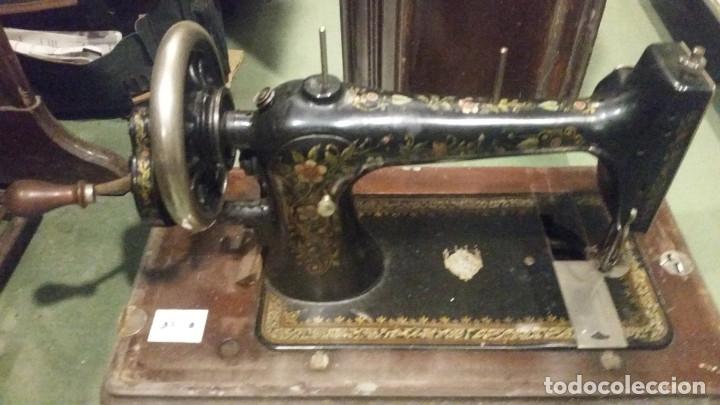Antigüedades: maquina de coser - Foto 2 - 179381572