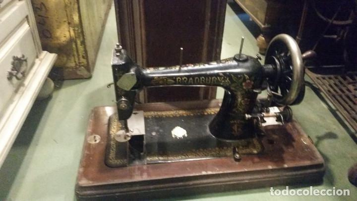 Antigüedades: maquina de coser - Foto 3 - 179381572