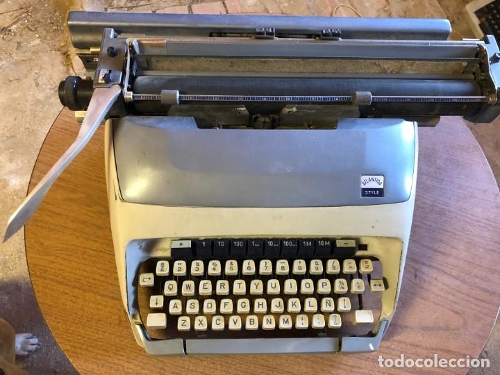 Antigüedades: Antigua maquina de escribir Atlantida Style - Foto 4 - 179514888