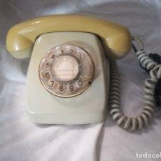 Antigüedades: TELEFONO DE RUEDA ANTIGUO COLOR VERDE MODELO HERALDO AÑOS 70-80. Lote 179517027