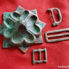 Antigüedades: HEBILLAS MEDIEVALES DIVERSAS. Lote 179529167