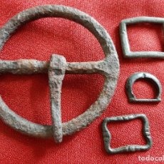 Antigüedades: HEBILLAS MEDIEVALES DIVERSAS . Lote 179529612