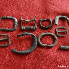 Antigüedades: HEBILLAS MEDIEVALES DIVERSAS . Lote 179530836