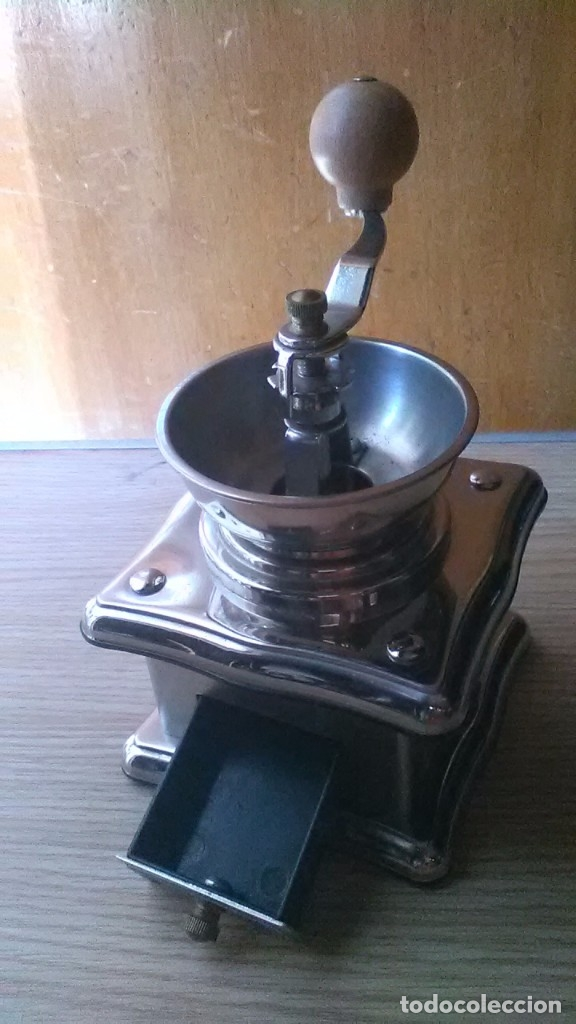 Antigüedades: Molinillo café, raro raro - Foto 3 - 179946972