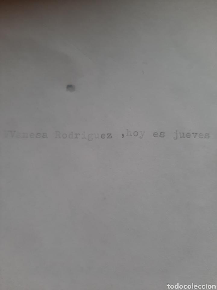 Antigüedades: Antigua máquina de escribir Olympia Splendid 33 - Foto 9 - 200178591