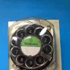 Teléfonos: REPUESTO NUEVO DISCO DEL ANTIGUO TELÉFONO GONDOLA EN SU BLISTER. Lote 180078631