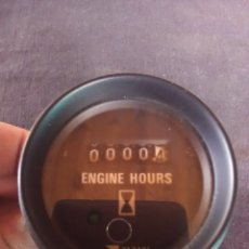 Antigüedades: CONTADOR ENGINE HOURS - YAZAKI ANALÓGICO. 24V CC. Lote 180087690