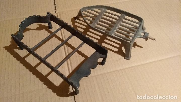 Antigüedades: Apoya planchas de hierro forjado - Foto 2 - 180110701