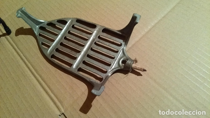 Antigüedades: Apoya planchas de hierro forjado - Foto 7 - 180110701