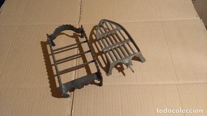 Antigüedades: Apoya planchas de hierro forjado - Foto 8 - 180110701