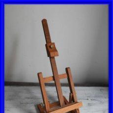 Antigüedades: ATRIL DE SOBREMESA REGULABLE DE MADERA. Lote 180113203