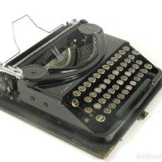 Antigüedades: MAQUINA DE ESCRIBIR PATRIA AÑO 1936 TYPEWRITER SCRHEIBMASCHINE. Lote 180117648