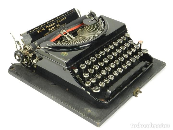 MAQUINA DE ESCRIBIR SMITH PREMIER MODEL 35 AÑO 1935 TYPEWRITER SCRHEIBMASCHINE (Antigüedades - Técnicas - Máquinas de Escribir Antiguas - Patria)