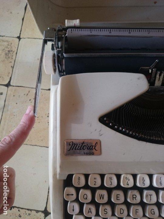 Antigüedades: Maquina de escribir Mitoral 1500 - Foto 2 - 180122183