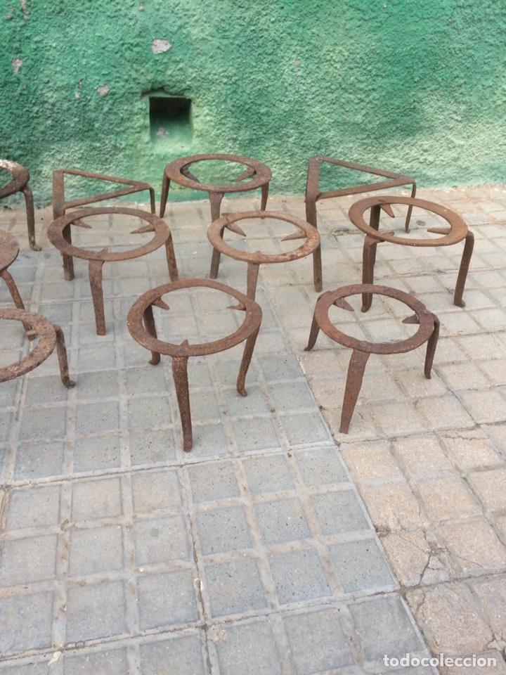 GRAN LOTE DE FOGUERILLES ANTIGUOS! (Antigüedades - Técnicas - Cerrajería y Forja - Forjas Antiguas)