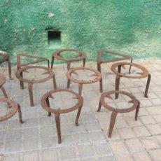 Antigüedades: GRAN LOTE DE FOGUERILLES ANTIGUOS!. Lote 180136023