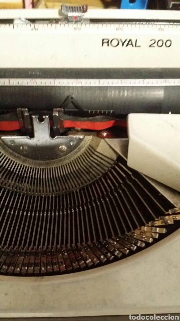 Antigüedades: Maquina de escribir Royal 200 - Foto 3 - 180136721