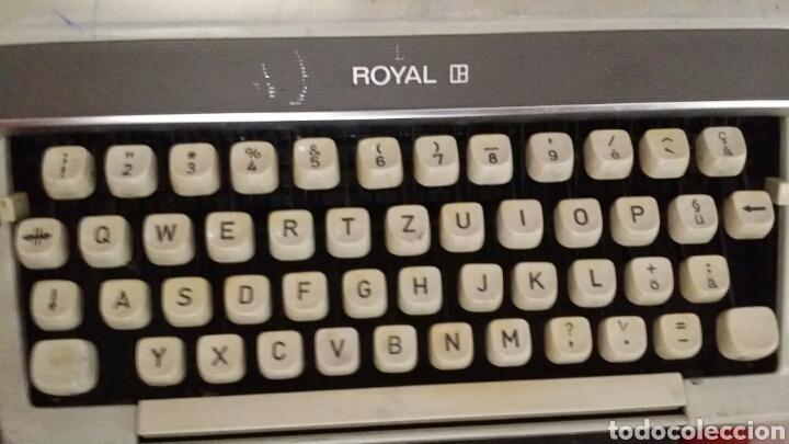 Antigüedades: Maquina de escribir Royal 200 - Foto 4 - 180136721