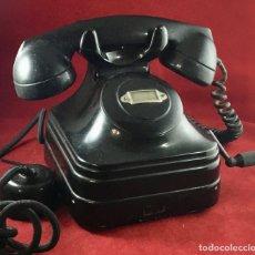 Teléfonos: ANTIGUO TELÉFONO SOBREMESA, BATERÍA LOCAL CON MAGNETO, DE STANDARD ELÉCTRICA, PARA LA CTNE. Lote 180151496
