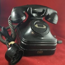Teléfonos: ANTIGUO TELÉFONO BATERÍA LOCAL, CON MAGNETO, DE STANDARD ELÉCTRICA, PARA LA CTNE. Lote 180151683